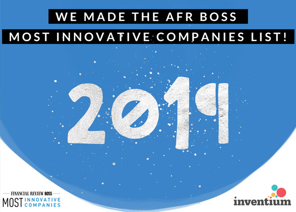 AFR Most Innovative Companies Award