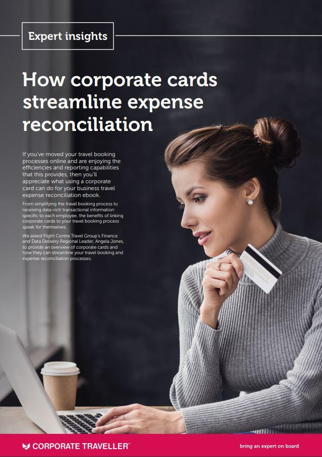 Ebook thumbnail for corporate cards streamlining expense reconciliation