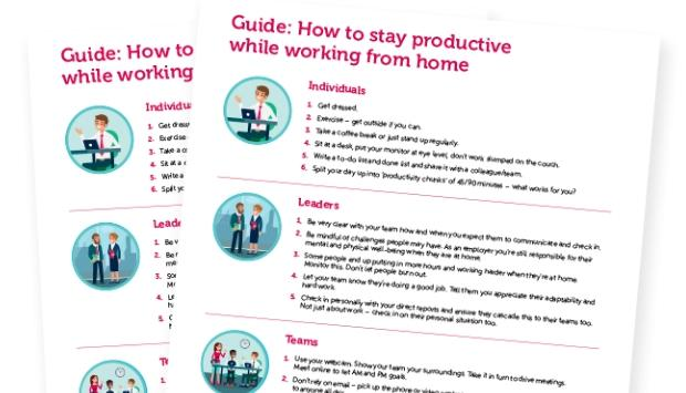 Guide to working from home.