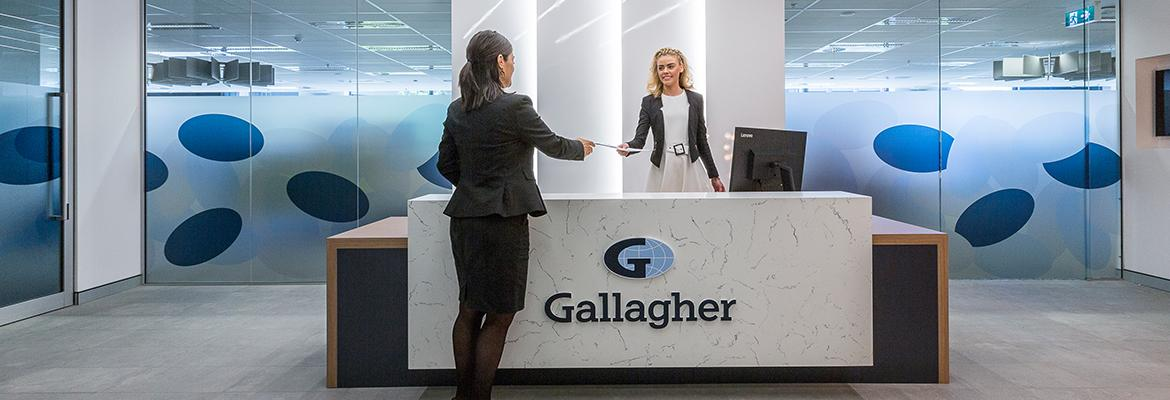 Gallagher Office Reception